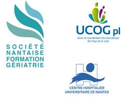 Logos organisateurs Journée d'onco-geriatrie Nantes 2018