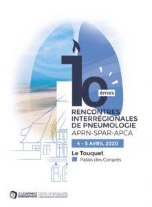 10es RENCONTRES INTERRÉGIONALES DE PNEUMOLOGIE APRN SPAR APCA 2020