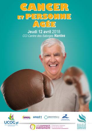 Visuel Cancer et Personne âgée Nantes 2018