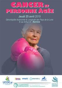 Cancer et personne âgée - congrès Nantes 2019
