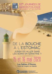 Affiche du congrès SGOC - Les Sables d'Olonne 2020