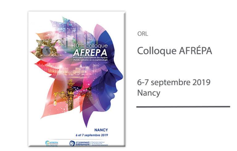 Colloque AFRÉPA