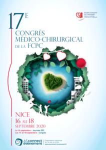 Affiche congrès de la FCPC SFC - Nice 2020