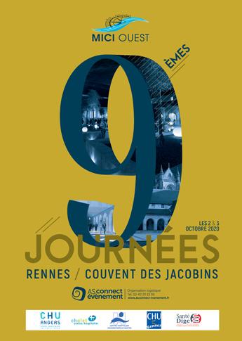 Affiche Journées MICI OUEST Rennes 2020