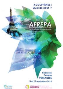 Affiche AFREPA Versailles2018