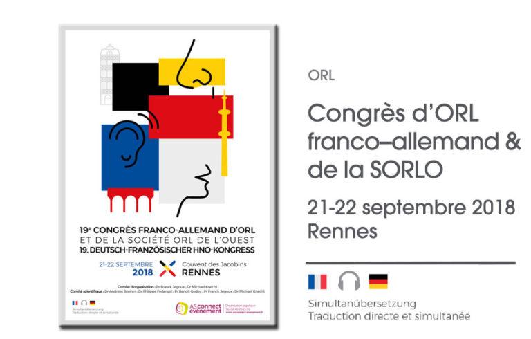 Congrès franco-allemand d'ORL et de la SORLO