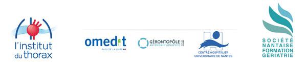 Organisateurs de la Journée Nantaise de Pneumo-gériatrie - Nantes 2019