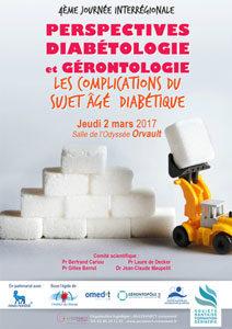 Visuel Perspectives Diabétologie et Gérontologie 2017