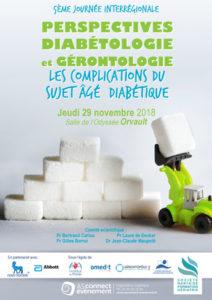 Visuel Journée de diabéto Gériatrie Nantes 2018