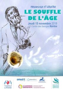 Visuel Journée de Pneumo Gériatrie Nantes 2018
