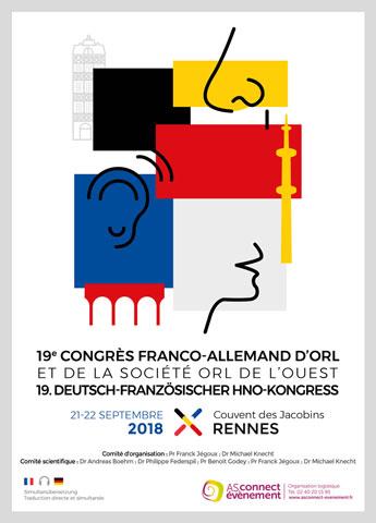 Visuel Congres Franco-Allemand d'ORL et SORLO 2018