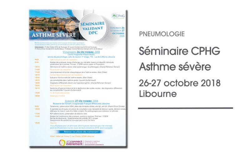 Séminaire du CPHG Libourne