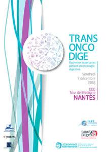 Visuel 2018 de la Journée Trans Onco Dige de l'IMAD du CHU de Nantes