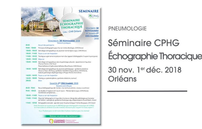 Séminaire du CPHG Orléans