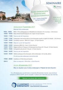 Programme Séminaire du CPHG St Quentin 2019