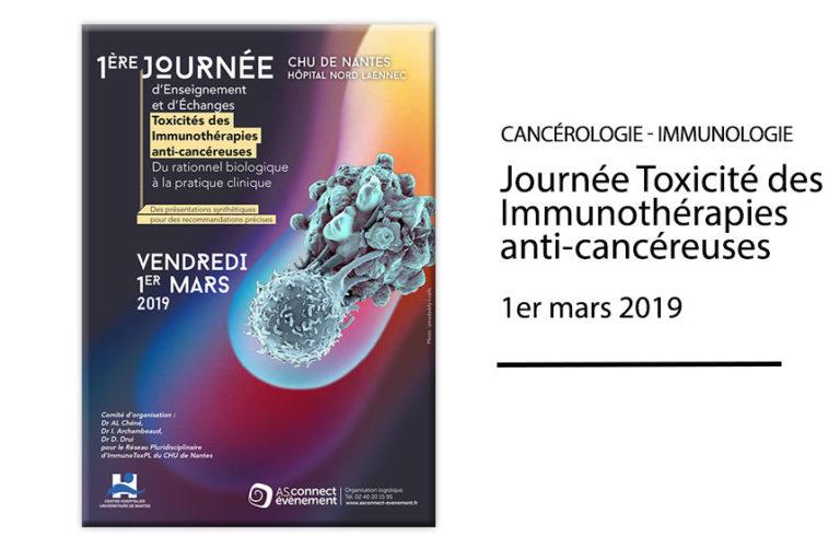 Journée Toxicité des Immunothérapies anti-cancéreuses