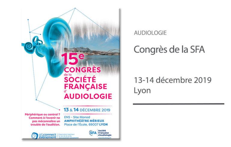 Congrès de la Société Française d'Audiologie