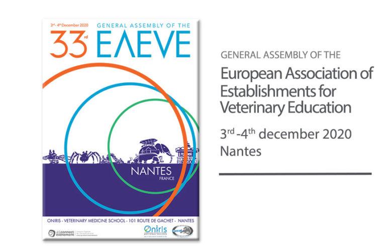 33rd EAEVE GA - Nantes 2020