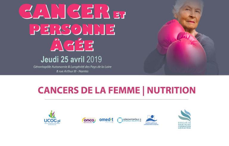 Journée Cancer et Personne âgée Nantes 2019