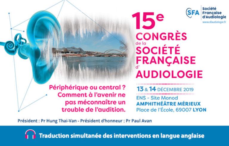 Congrès SFA Lyon 2019