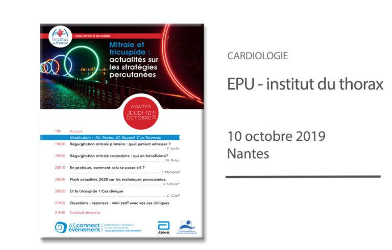 EPU - Actualités stratégies percutanées (mitrale & tricuspide)