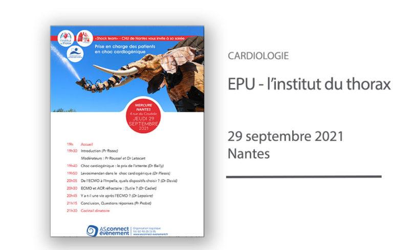 EPU - Prise en charge du choc cardiogénique