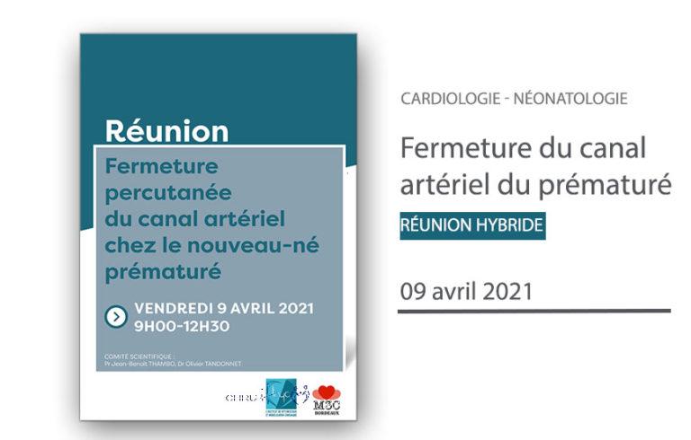 Le canal artériel du prématuré - CHU de Bordeaux